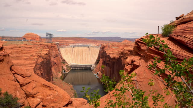 ws glen canyon dam - page arizona stock videos and b-roll footage