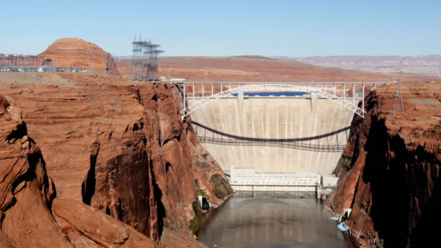 glen canyon dam - page arizona stock videos and b-roll footage