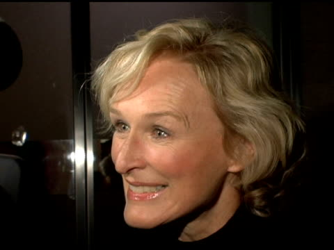 Glen Close at the Screening and Reception for New York Opening of 'Street Fight' at the Core Club in New York New York on February 21 2006