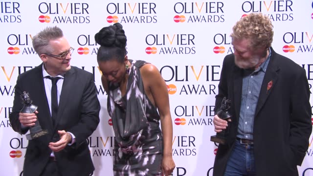 BROLL Glen Hansard and Beverley Knight at The Laurence Olivier Awards with MasterCard on April 13 2014 in London England