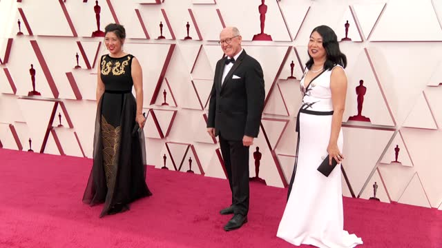 glen keane and guests at the93rd annual academy awards - arrivals onapril25, 2021. - academy of motion picture arts and sciences stock videos & royalty-free footage