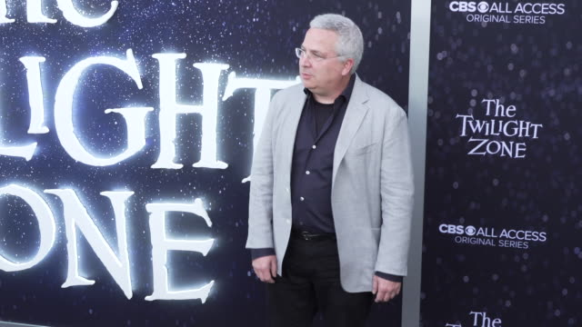 "glen morgan at the premiere of ""the twilight zone' at the harmony gold preview house and theater on march 26, 2019 in hollywood, california. - harmony gold preview theatre stock videos & royalty-free footage"