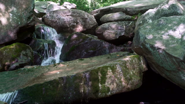 Glen Onoko faller i Lehighton State Park, nära av Jim Thorpe. Pennsylvania, USA.