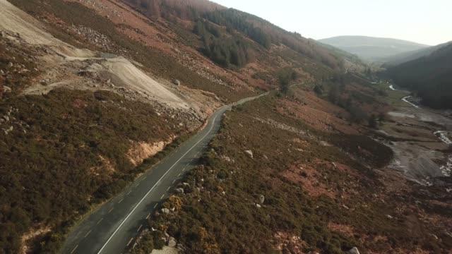 glendalough, county wicklow, ireland. - heather stock videos & royalty-free footage