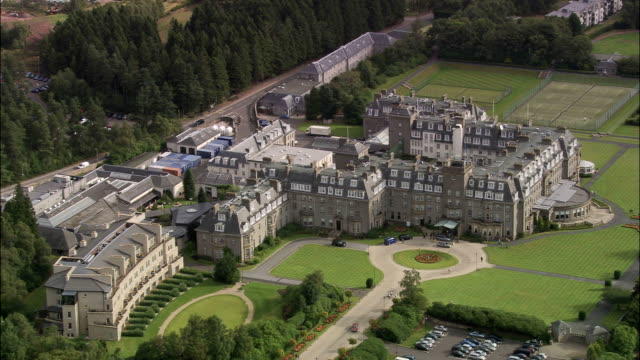 gleneagles - perthshire stock videos & royalty-free footage
