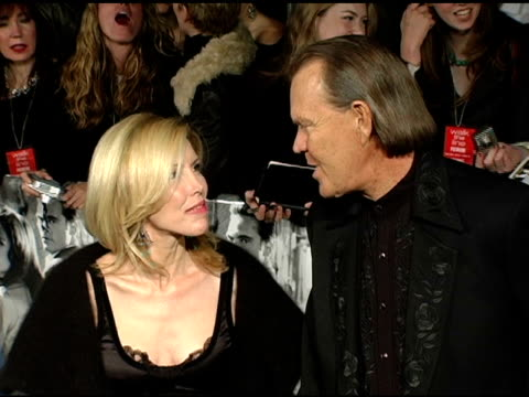 Glenn Campbell and guest at the 'Walk The Line' New York Premiere at the Beacon Theater in New York New York on November 13 2005
