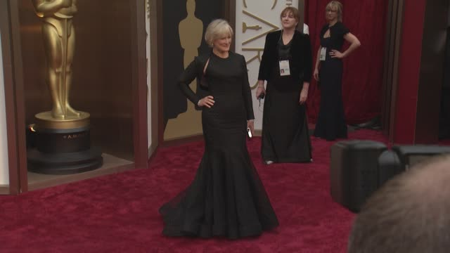 Glenn Close 86th Annual Academy Awards Arrivals at Hollywood Highland Center on March 02 2014 in Hollywood California