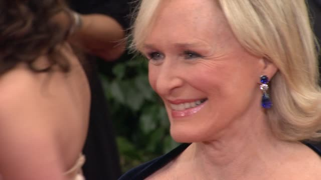 Glenn Close at 69th Annual Golden Globe Awards Arrivals on January 15 2012 in Beverly Hills California