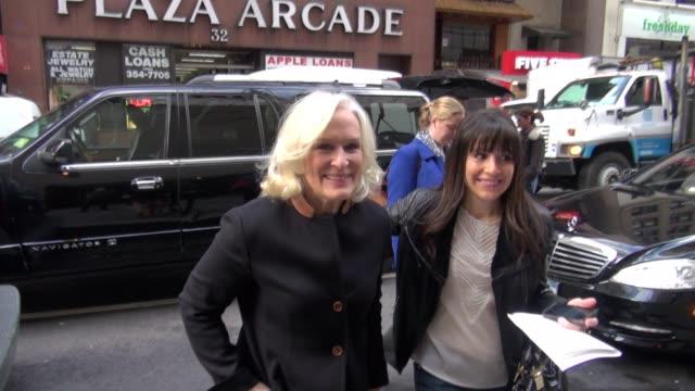 Glenn Close at NBC Studios in New York NY on 12/5/12