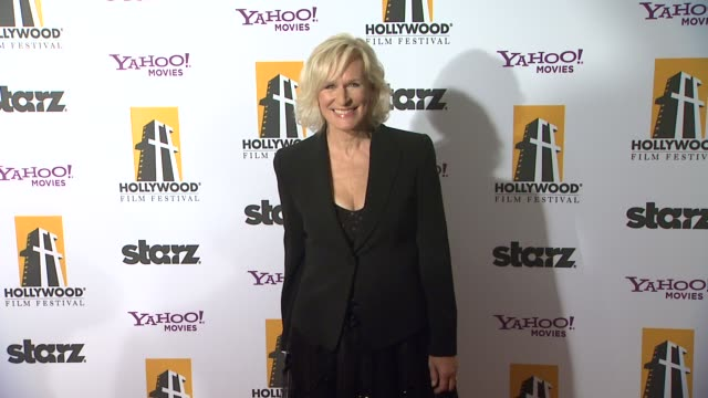 stockvideo's en b-roll-footage met glenn close at the 15th annual hollywood film awards gala at beverly hills ca. - glenn close