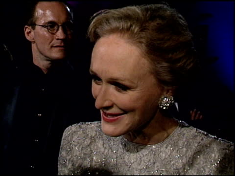 Glenn Close at the 1995 Academy Awards Granada TV at the Shrine Auditorium in Los Angeles California on March 27 1995