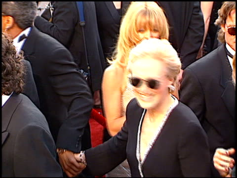glenn close at the 1997 academy awards arrivals at the shrine auditorium in los angeles california on march 24 1997 - 69th annual academy awards stock videos & royalty-free footage