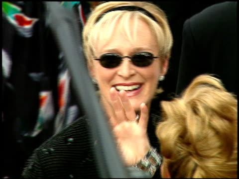 stockvideo's en b-roll-footage met glenn close at the 1997 emmy awards arrivals at the pasadena civic auditorium in pasadena, california on september 14, 1997. - glenn close