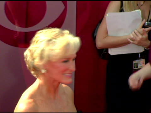 Glenn Close at the 2005 Emmy Awards at the Shrine Auditorium in Los Angeles California on September 18 2005