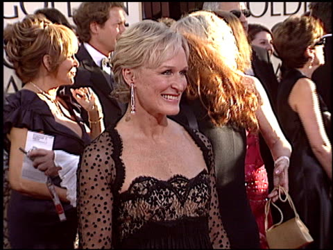 Glenn Close at the 2005 Golden Globe Awards at the Beverly Hilton in Beverly Hills California on January 16 2005