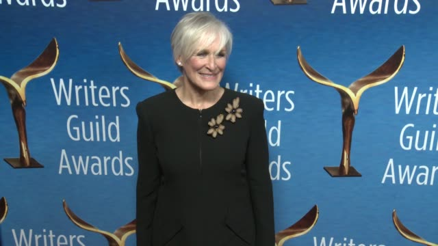 Glenn Close at the 2018 Writers Guild Awards at The Beverly Hilton Hotel on February 11 2018 in Beverly Hills California