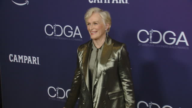 stockvideo's en b-roll-footage met glenn close at the 21st cdga at the beverly hilton hotel on february 19, 2019 in beverly hills, california. - glenn close