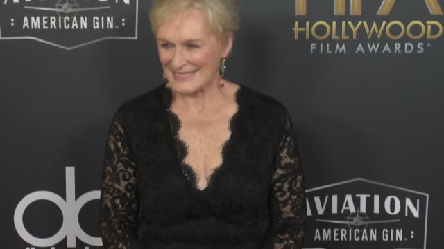 Glenn Close at the 22nd Annual Hollywood Film Awards at The Beverly Hilton Hotel on November 04 2018 in Beverly Hills California