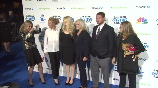 glenn close at the 2nd annual american giving awards presented by chase on in pasadena ca - hinterher bewegen stock-videos und b-roll-filmmaterial