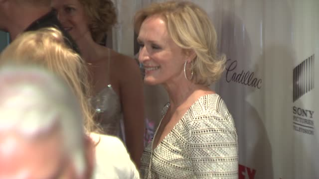 glenn close at the 'damages' premiere at the regal theater in new york new york on july 19 2007 - damages television show stock videos and b-roll footage