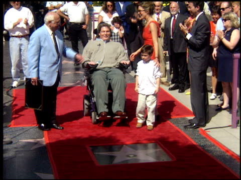 glenn close at the dediction of christopher reeve's walk of fame star at the hollywood walk of fame in hollywood, california on april 15, 1997. - glenn close stock videos & royalty-free footage