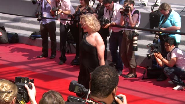 Glenn Close at the Tamara Drewe Red Carpet Cannes Film Festival 2010 at Cannes