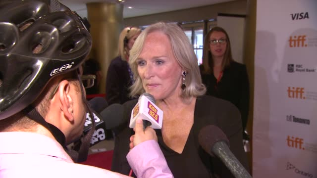 """glenn close at the """"the big chill"""" 30th anniversary party glenn close at the """"the big chill"""" 30th at princess of wales theatre on september 05, 2013... - glenn close stock videos & royalty-free footage"""