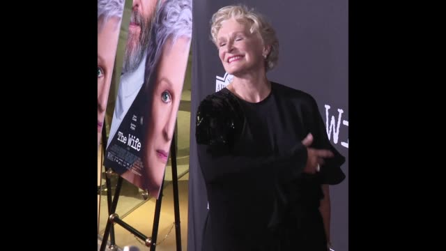 Glenn Close at the 'The Wife' Los Angeles Premiere