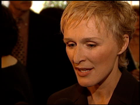 glenn close at the women in hollywood luncheon at the four seasons hotel in beverly hills, california on november 16, 1999. - glenn close stock videos & royalty-free footage