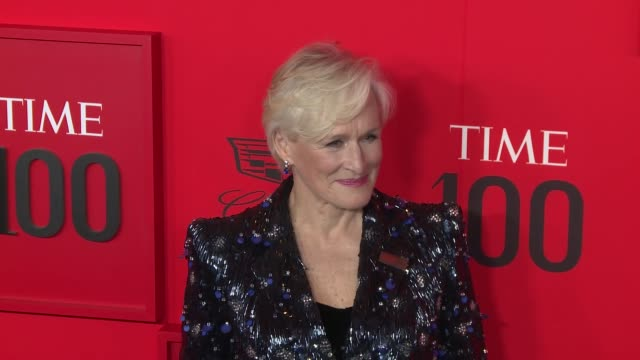 vídeos y material grabado en eventos de stock de glenn close at time 100 most influential people in the world at jazz at lincoln center on april 23, 2019 in new york city. - glenn close