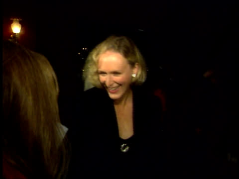 Glenn Close comments on the book A River Runs Through It at the premiere of the film based on the book