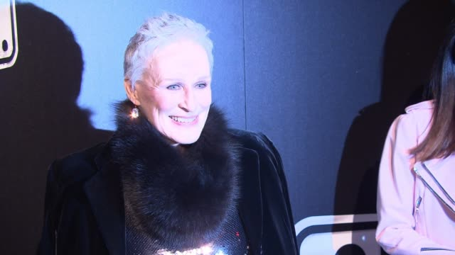 Glenn Close Michael Xavier Siobhan Dillon and Fred Johnson at 'Sunset Boulevard' Opening Night at Palace Theatre on February 09 2017 in New York City