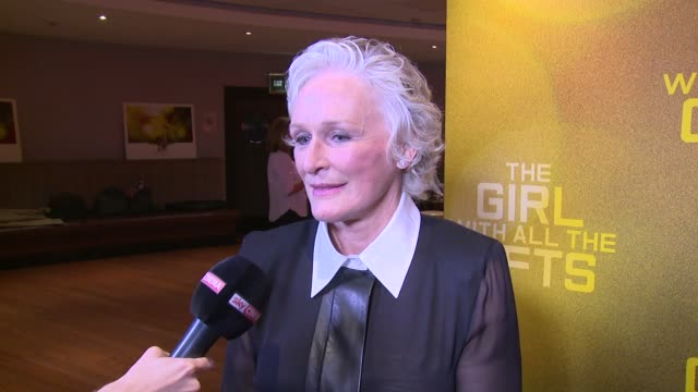INTERVIEW Glenn Close on gifts and movies at Odeon Leicester Square on September 19 2016 in London England