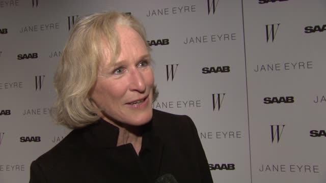 glenn close on her upcoming film, writing, acting and the project she's wanted to do for 15 years. at the 'jane eyre' new york premiere - arrivals at... - glenn close stock videos & royalty-free footage