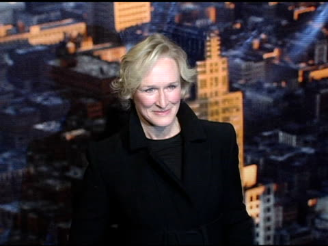 Glenn Close with daughter Annie at the 'King Kong' New York Premiere at Loews EWalk and AMC Empire Cinemas in New York New York on December 5 2005