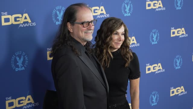 glenn weiss and jan svendsen at the 71st annual dga awards at the ray dolby ballroom at hollywood highland center on february 02 2019 in hollywood... - director's guild of america stock videos & royalty-free footage