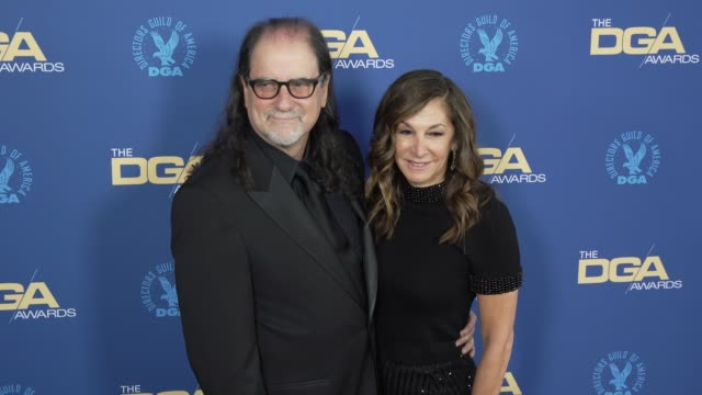 glenn weiss and jan svendsen at the 71st annual dga awards at the ray dolby ballroom at hollywood & highland center on february 02, 2019 in... - hollywood and highland center stock videos & royalty-free footage