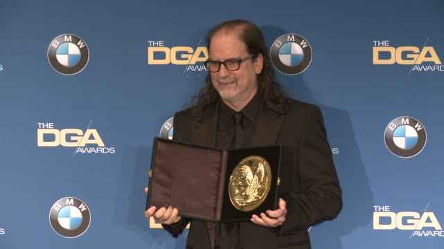 glenn weiss at 69th annual directors guild of america awards in los angeles ca - directors guild of america awards stock videos & royalty-free footage