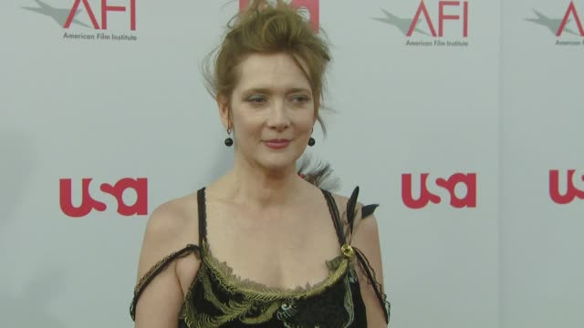 vídeos de stock e filmes b-roll de glenne headly at the warren beatty to be honored with 36th afi lifetime achievement award at los angeles ca - glenne headly