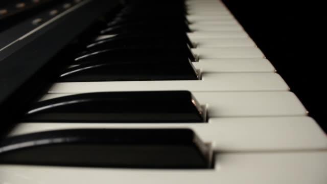 Gliding Along Piano Keyboard