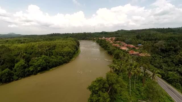 vídeos y material grabado en eventos de stock de a glimpse of central trans sumatra highway - isla de sumatra