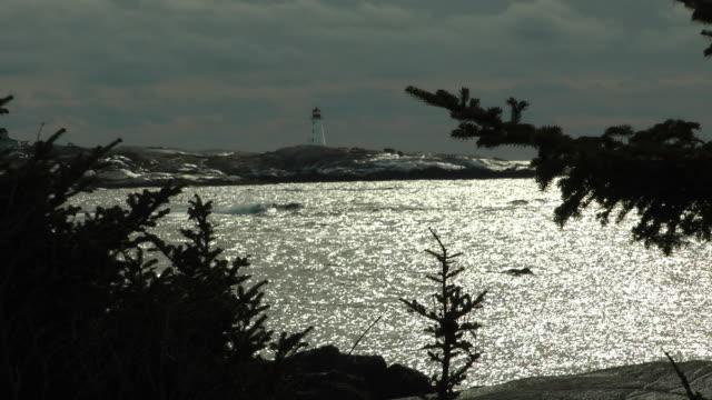 Glissening Peggys Cove
