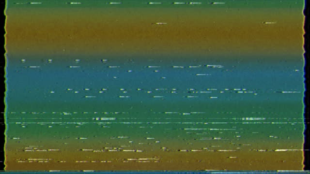 vídeos de stock e filmes b-roll de glitch displacement map|glitch technique - videocassete