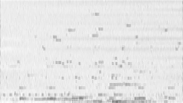 vídeos de stock e filmes b-roll de glitch displacement map|glitch technique - colaptes