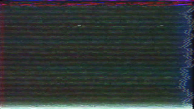 glitch tv noise - glitch technique stock videos & royalty-free footage