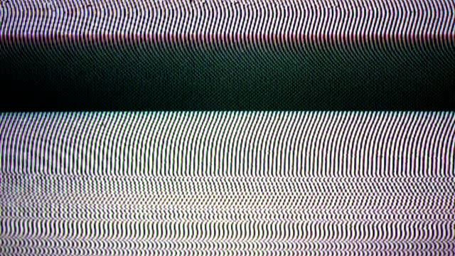 glitch tv static noise distorted signal problems - television static stock videos & royalty-free footage