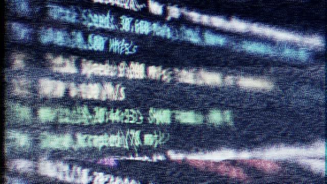 故障しやすいインターフェイス - イーサリアム点の映像素材/bロール