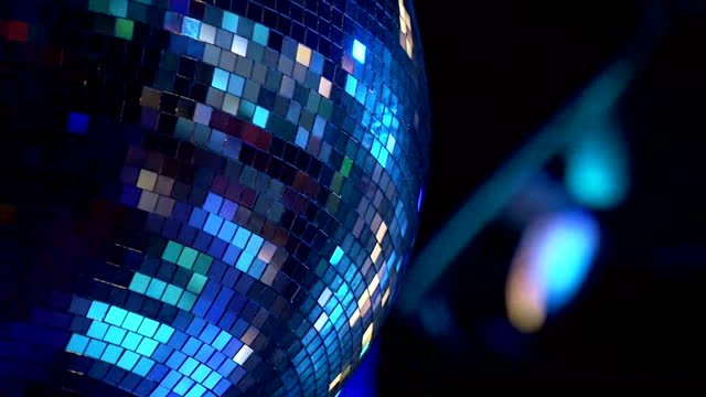 cu glitter ball - less than 10 seconds stock videos & royalty-free footage