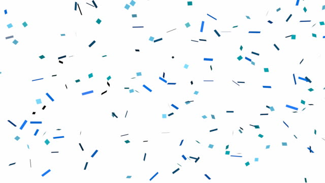 glitter confetti background - white background stock videos & royalty-free footage