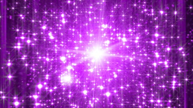 vídeos y material grabado en eventos de stock de glitter bucle de fondo flash - fondo púrpura